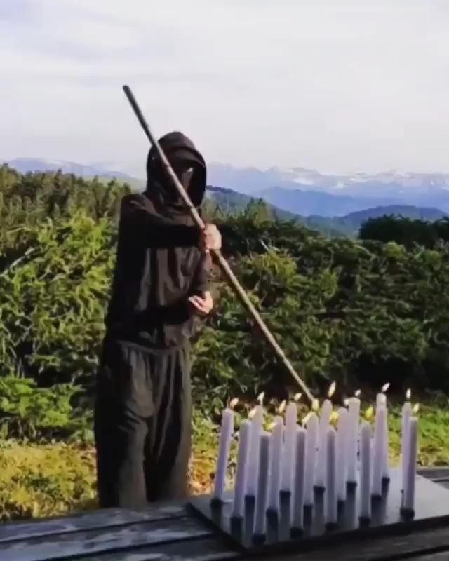 How Ninja Celebrates his Birthday Martial Arts