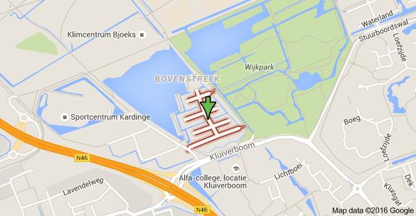 Map of Zilvermeer, 9735 Groningen