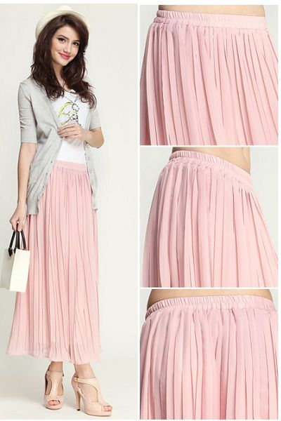 17 Best images about Lyubov: looks with pink pleated skirt on ...