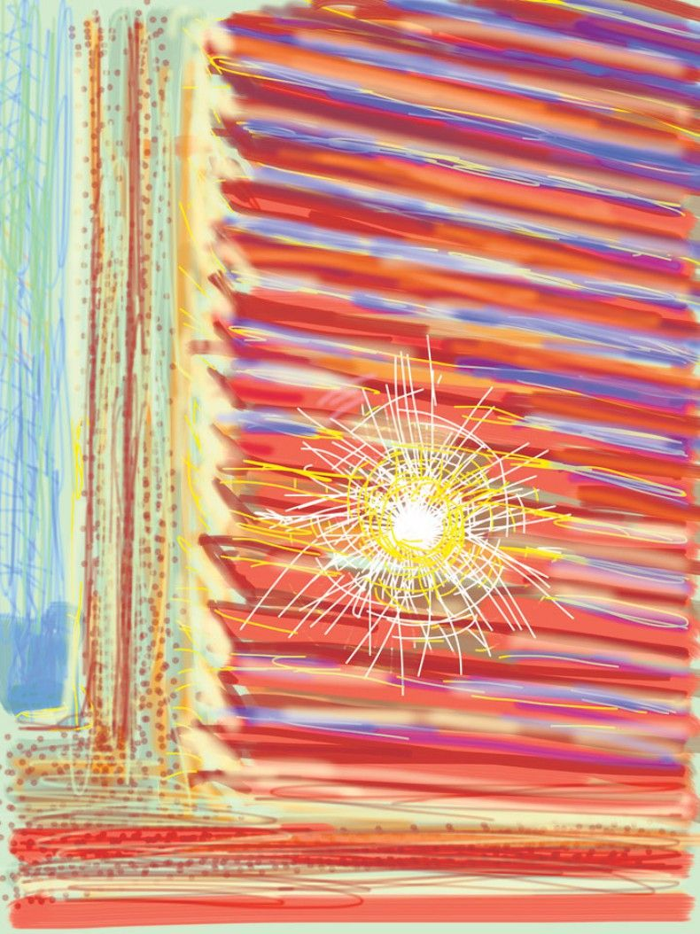 Ο David Hockney κάνει τέχνη στο iPad - GALLERIA - LiFO