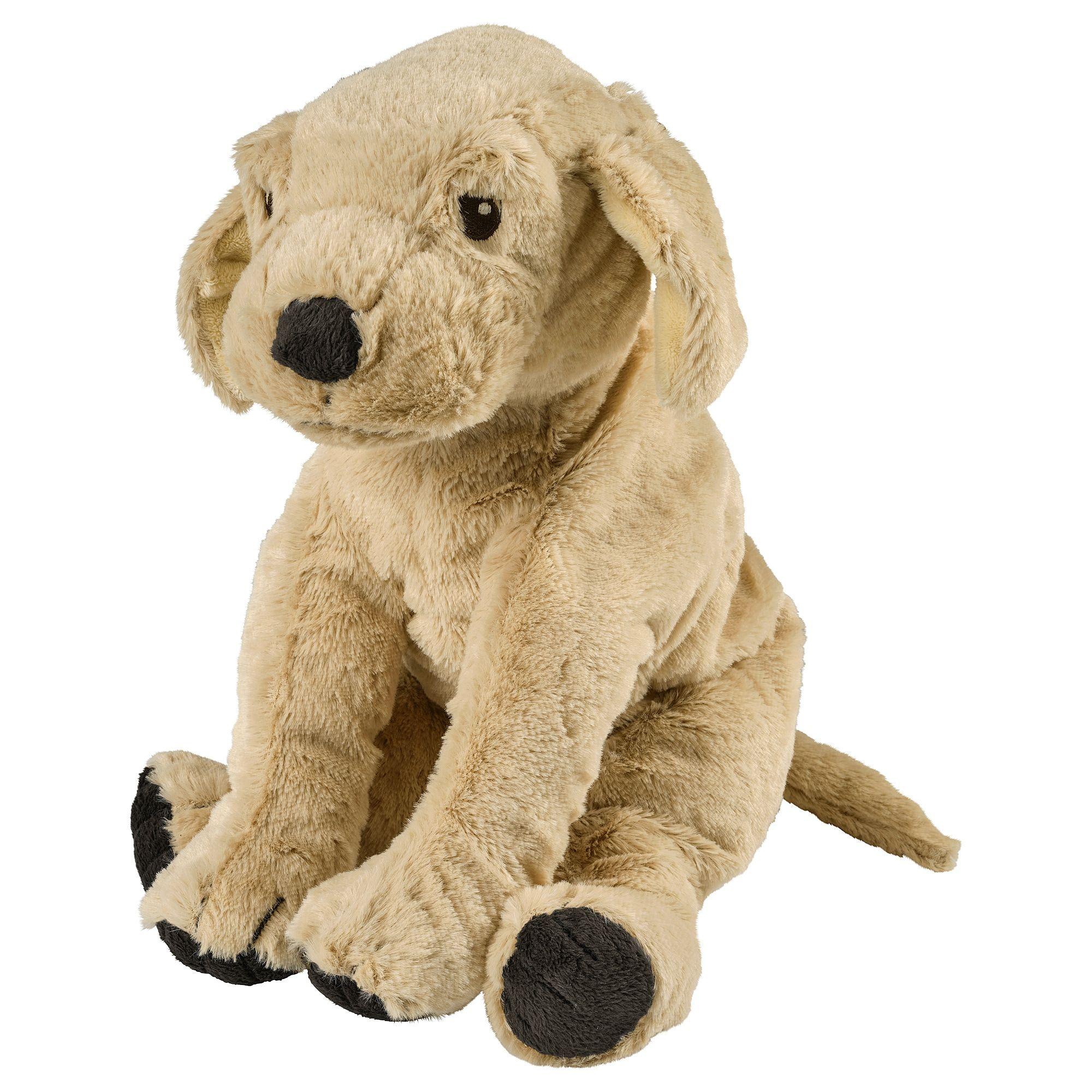 Ikea Gosig Golden Dog Yellow Golden Retriever Soft Toy In 2019