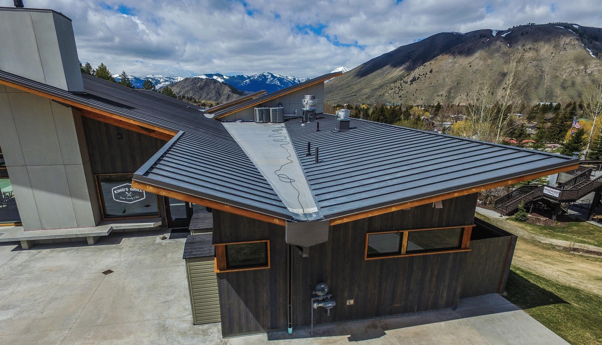 Standing Seam Metal Roofing Bonderized