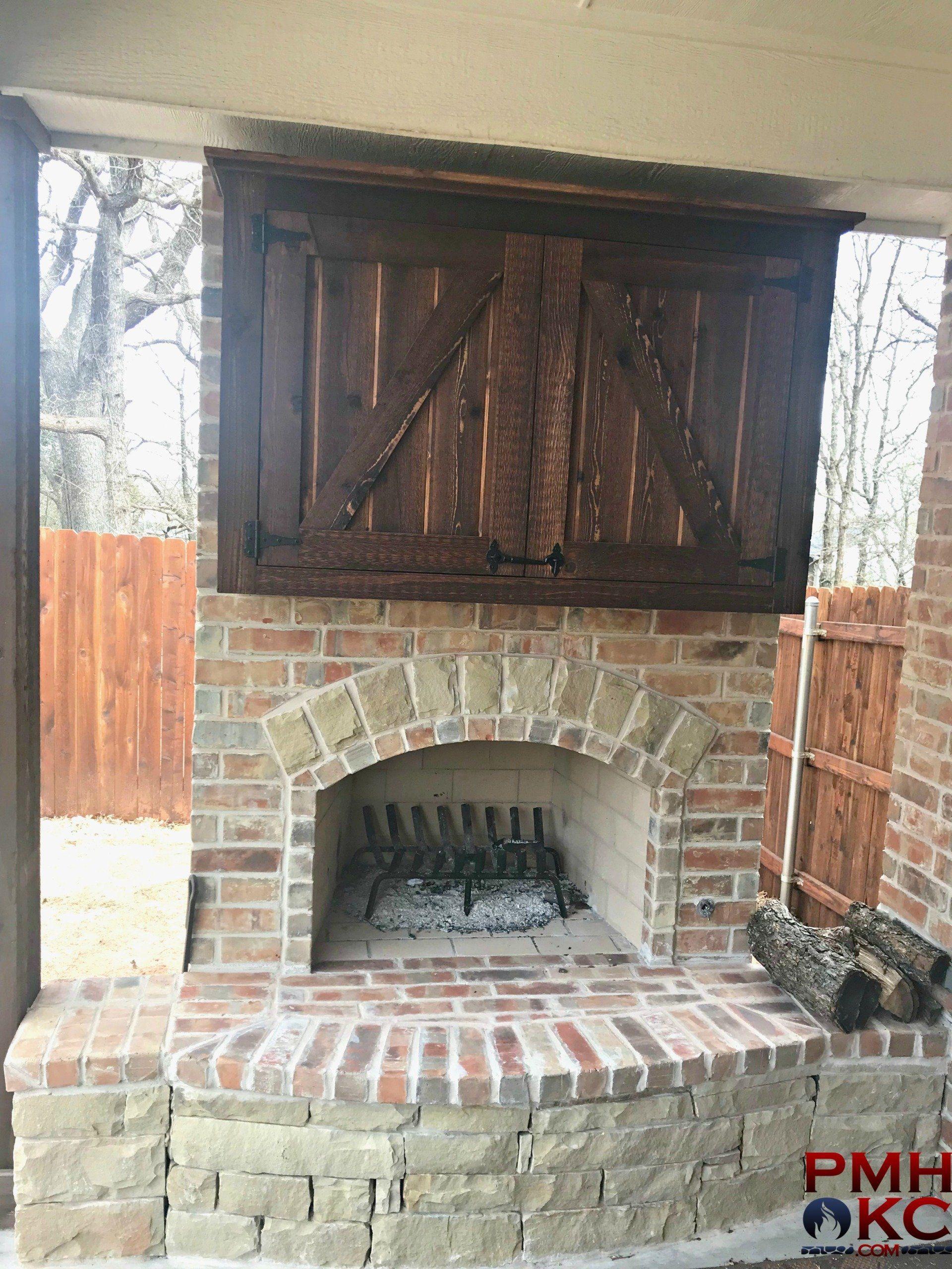 Outdoor Fireplaces Fireplace Custom Fireplace Brick Fireplace