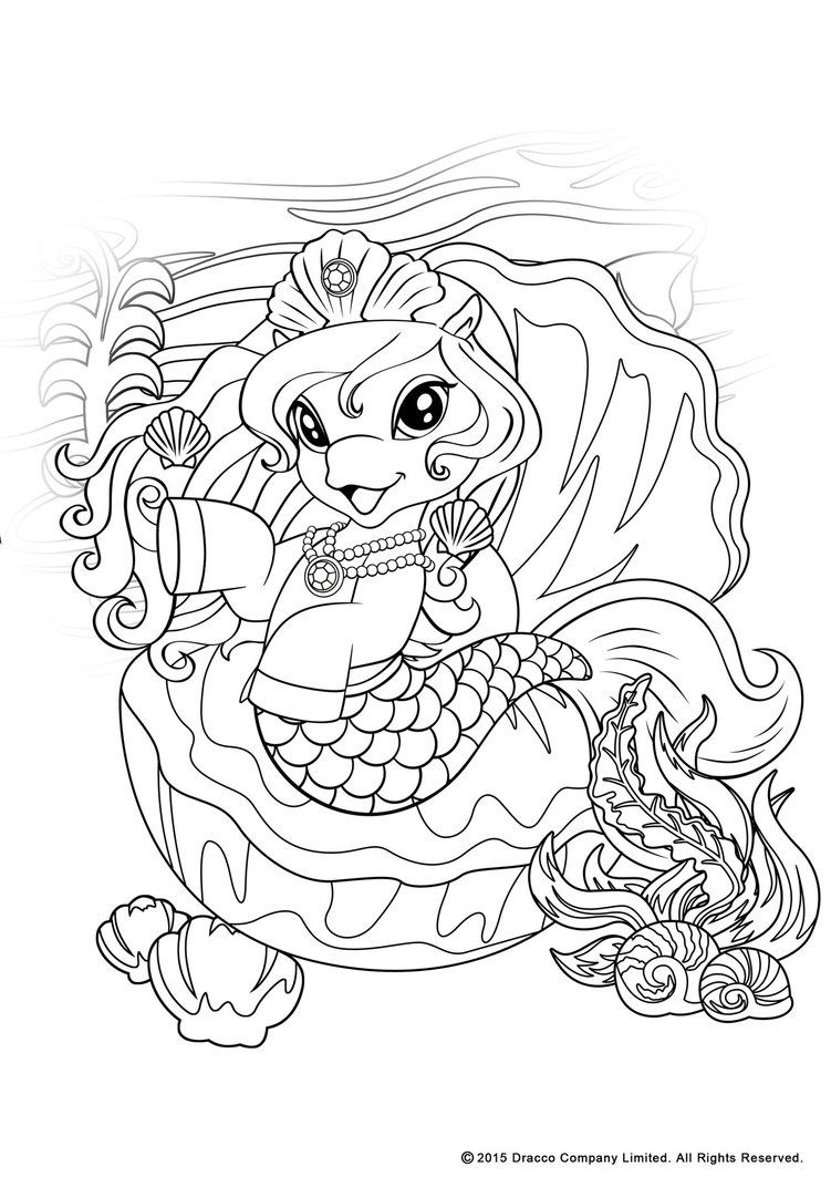 my filly world pony toys coloring pages mermaids 1 by myfillydeviantartcom on