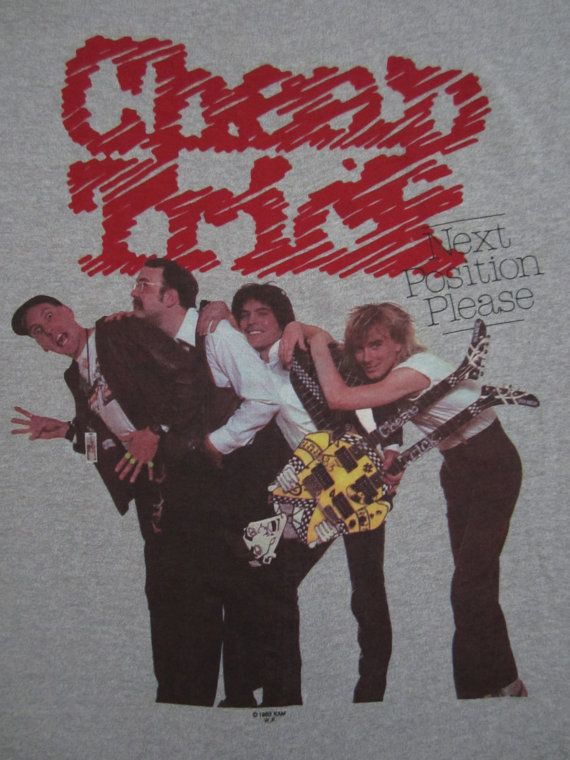 Cheap Trick Vintage T-Shirt https://www.facebook.com ...