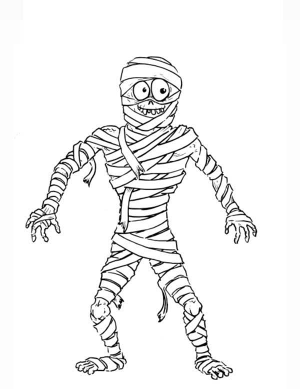 Mummy Coloring Page COLORING PAGES FOR FREE Coloring