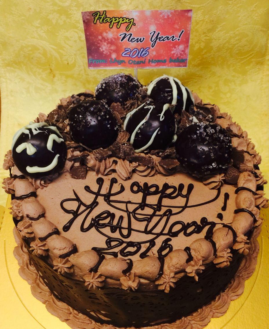 Ultimate new year cake 2016