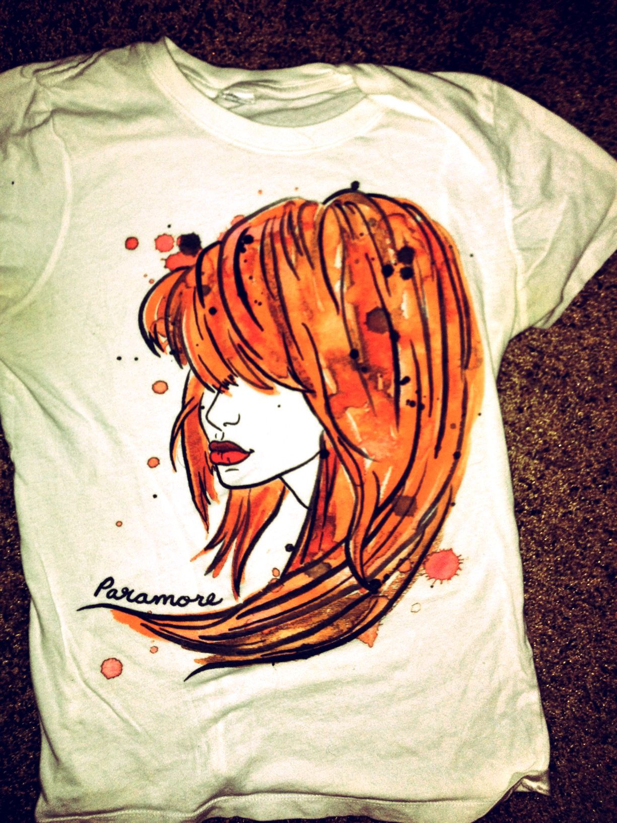 85f0fde845db2 Paramores T Courtesy of hot topic- pinned by Denise Paramore Merch