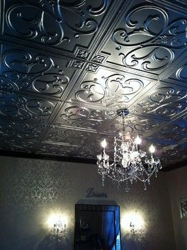 decorating with tin ceiling tiles | Houzz - Home Design ...