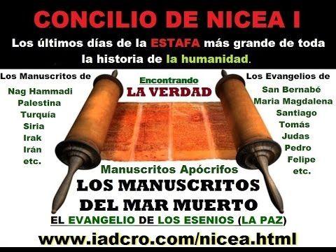 CONCILIO DE NICEA I, la ESTAFA más grande de toda la historia de la humanidad - YouTube