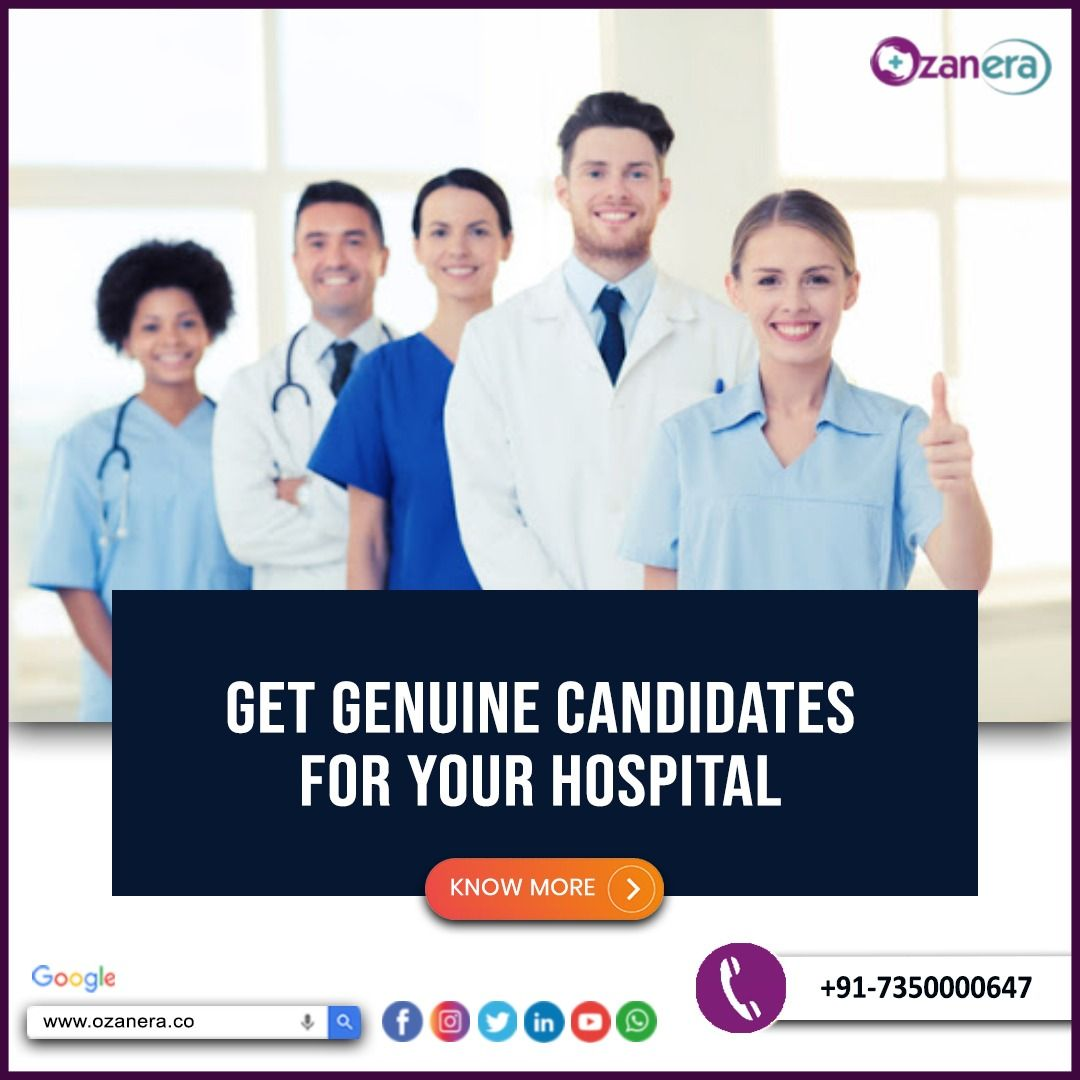 Get Genuine Candidates For Your Hospital In 2020 With Images