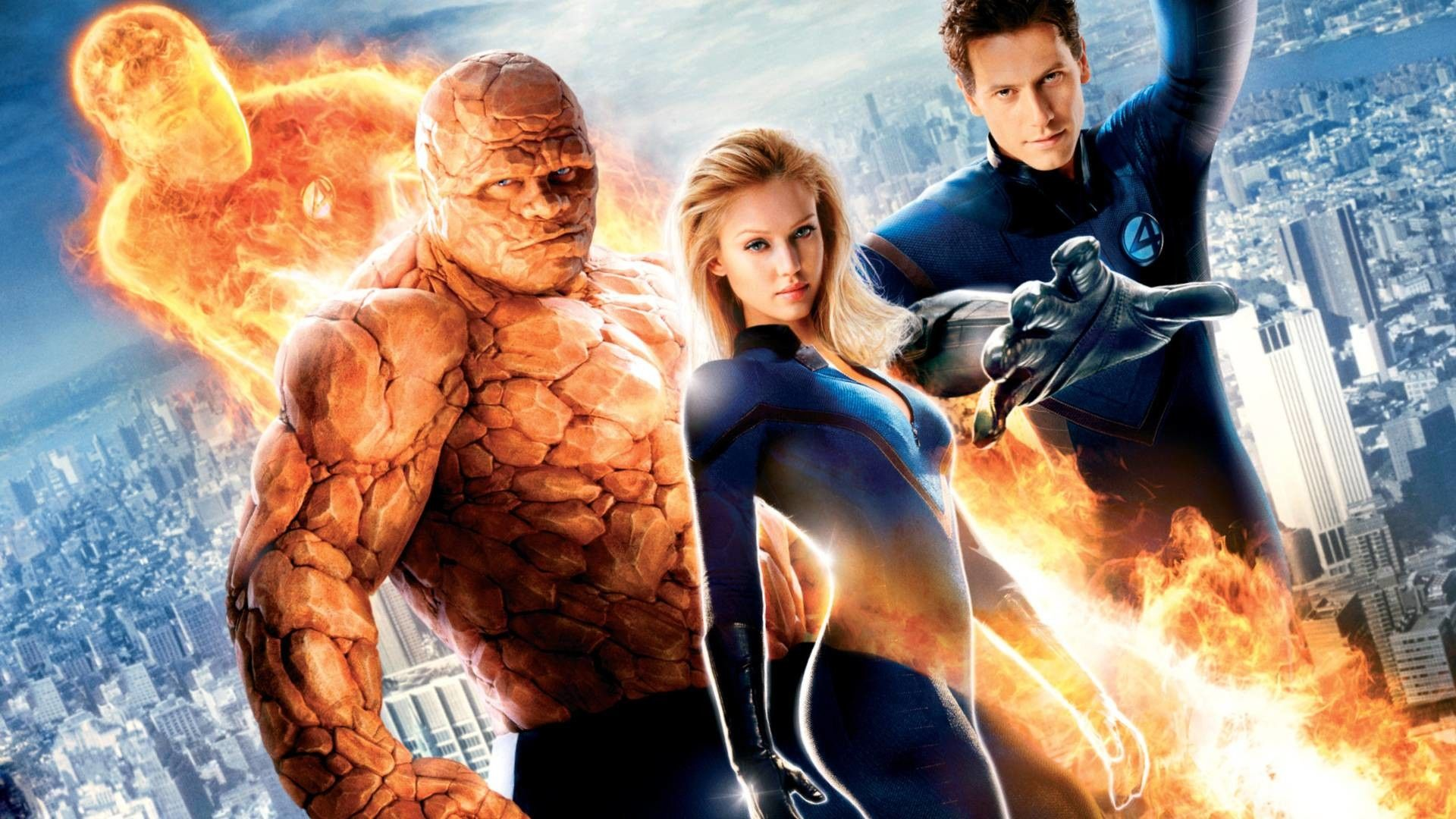 Cartoon Fantastic Four Wallpaper