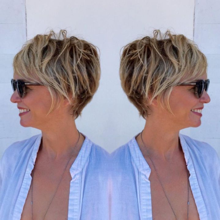 Short hairstyles for women over 50 – Simple and noble – Hairstyle Fix