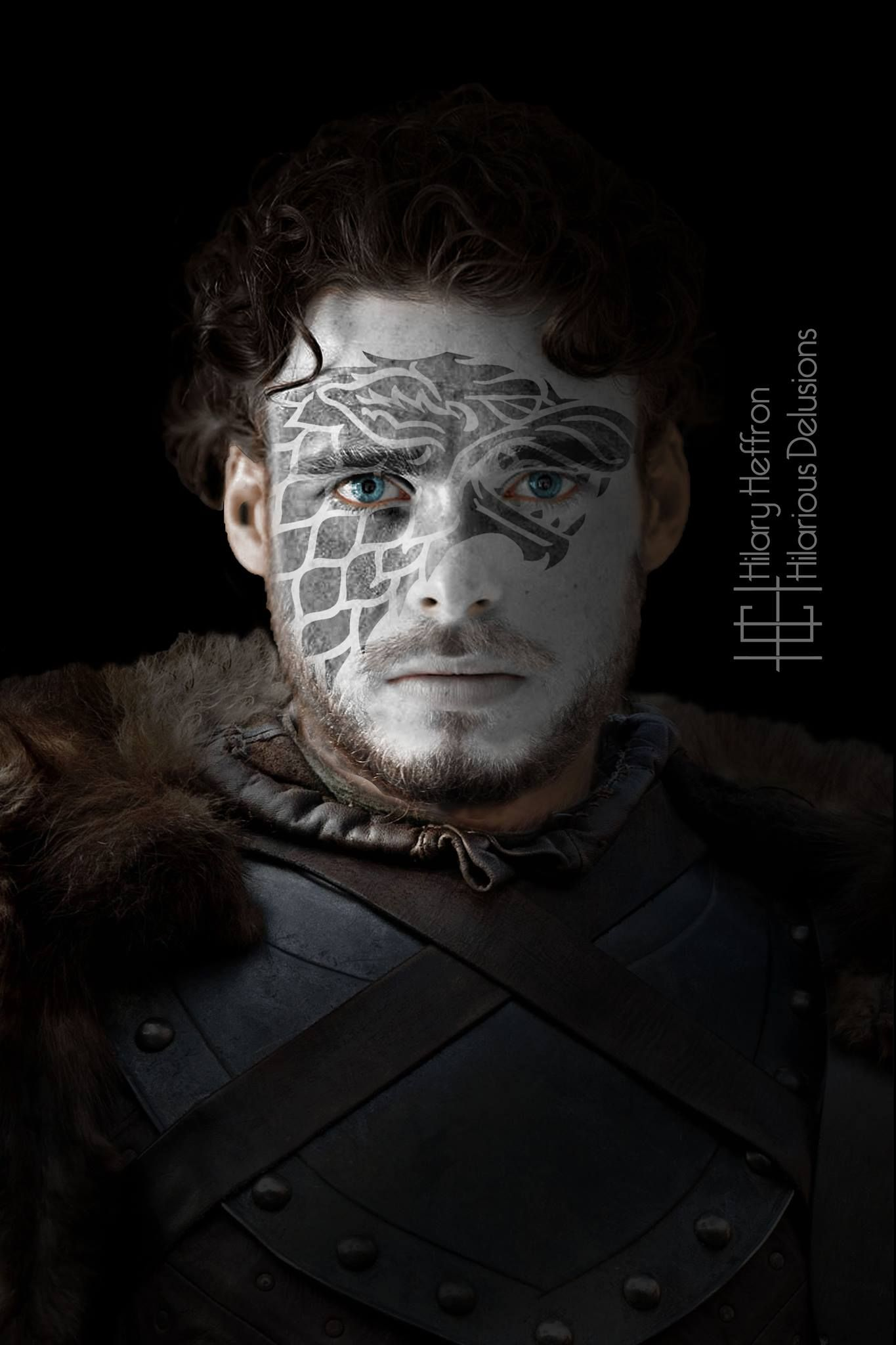 Robb Stark (Winter Edition) by Hilary Heffron - Hilarious Delusions