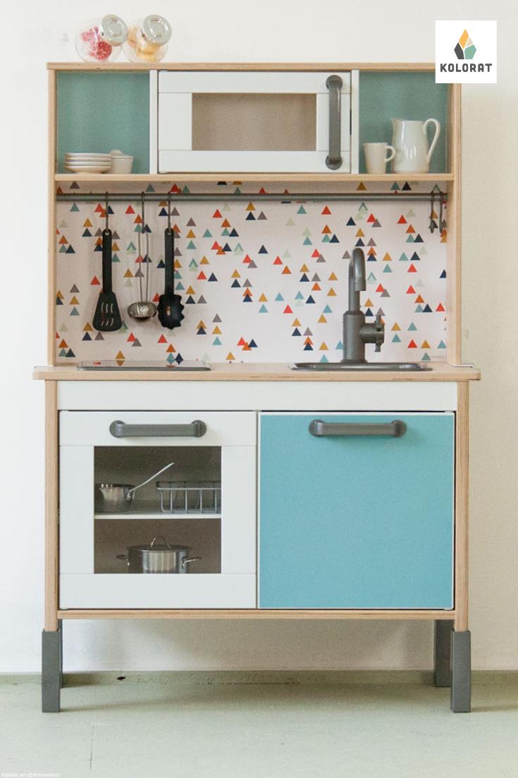 Ikea Spielküche DUKTIG selbst lackieren mit Lack von www ...