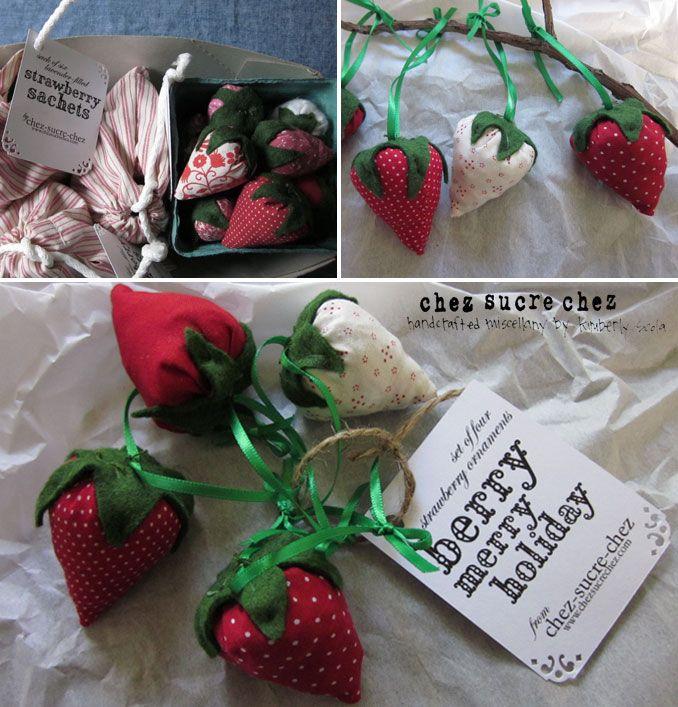 sachet de lavande fraise bricolage et diy sachets de. Black Bedroom Furniture Sets. Home Design Ideas