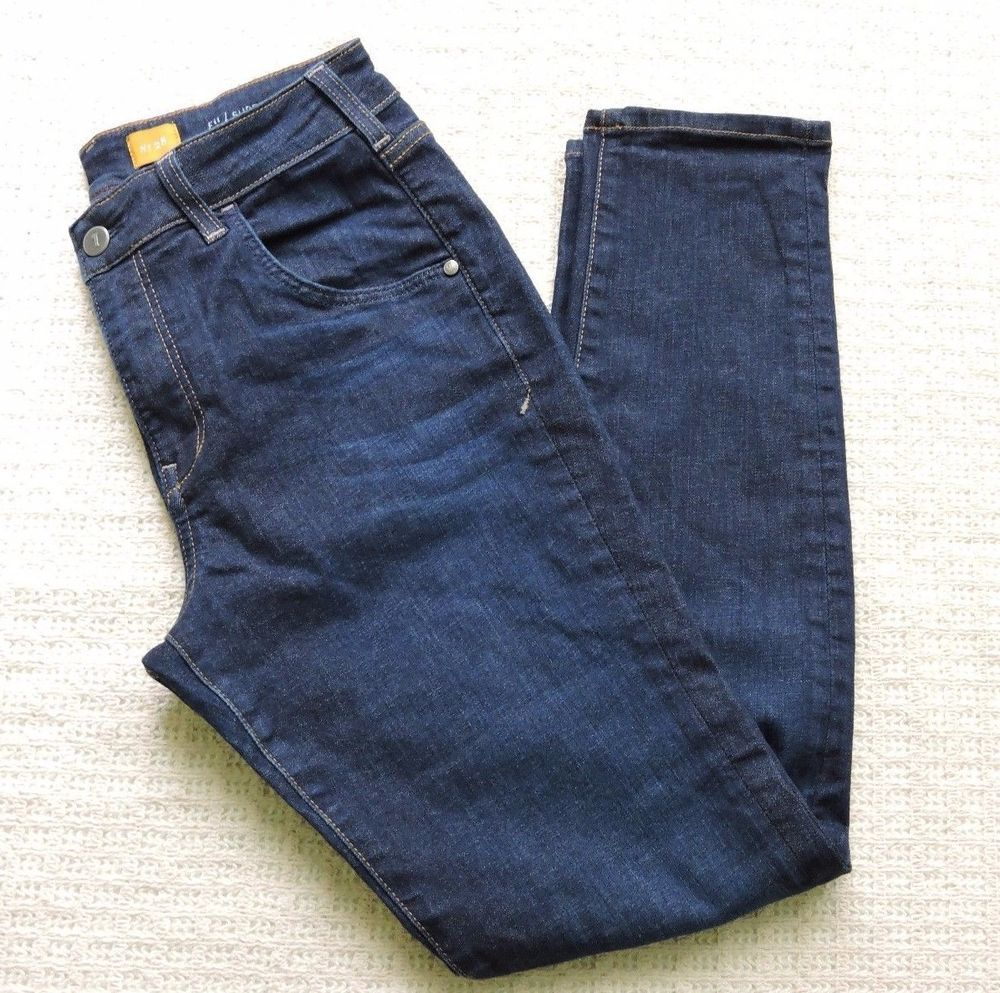 Pilcro And The Letter Press Women Superscript High Rise Jeans Size 28 #Pilcro #SlimSkinny