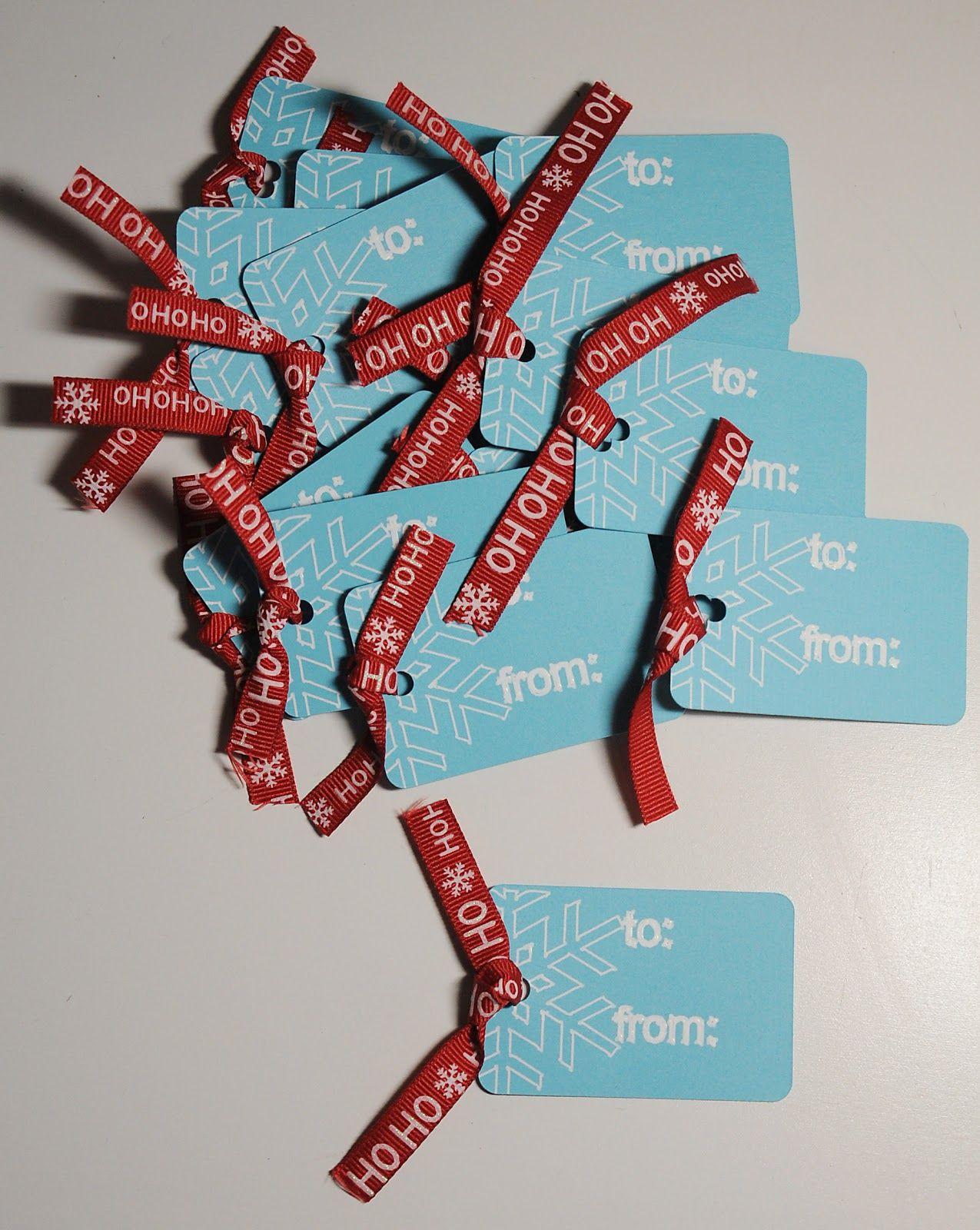 Amy Chomas: Christmas tags with Chomas Creations adjustable marker holder