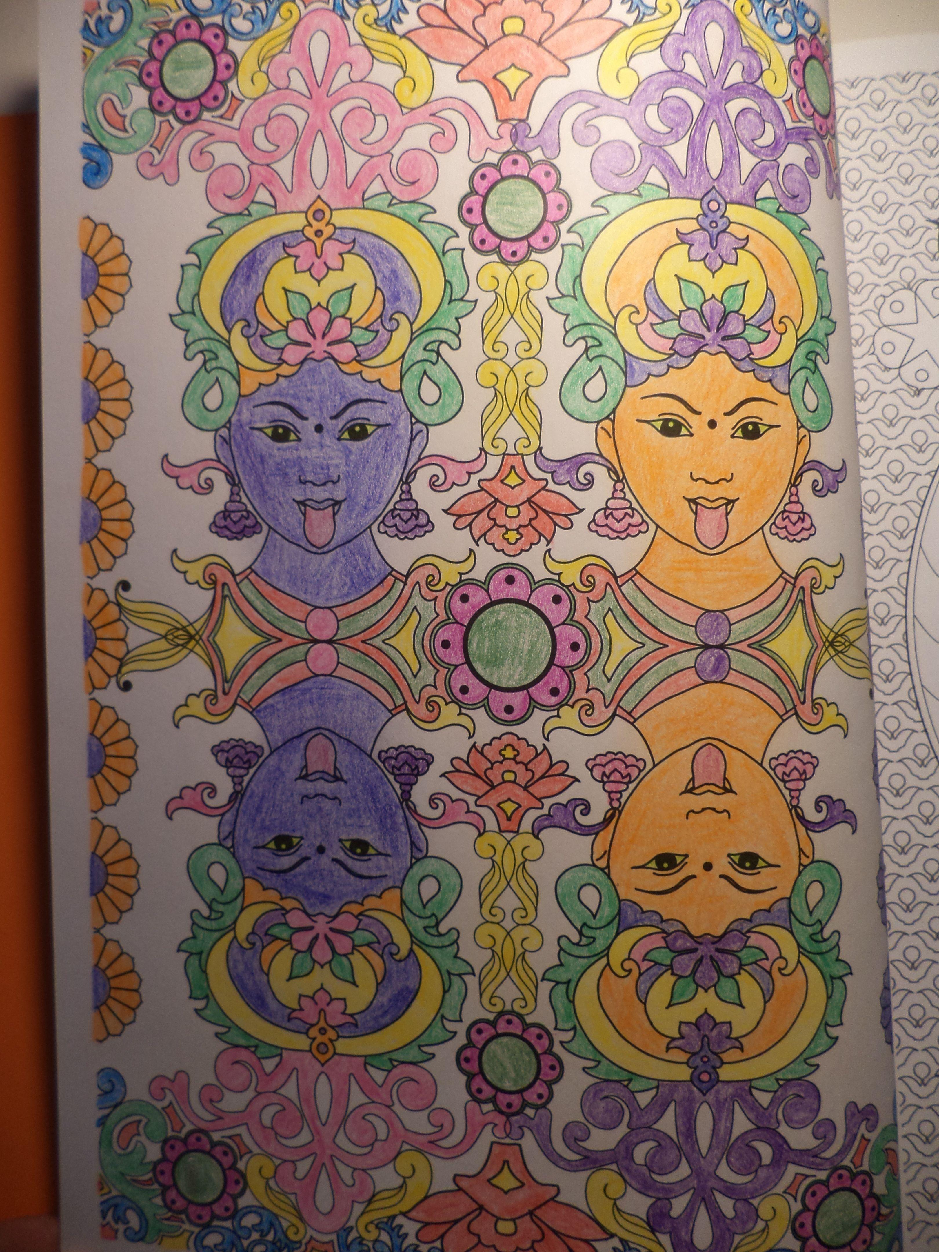 coloriage 100 mandalas
