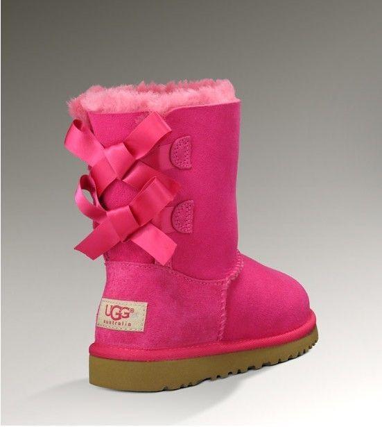 d9c8c1631 UGG bowknot 3280 pink Botas Rosas