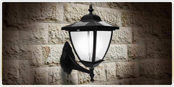 Solar Wall Mounted Coach Lantern Light Black Classy Caps Elegante Solar Wall Lights Lantern Lights Outdoor Solar Wall Lights