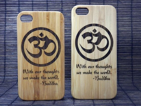 OM Buddha Quote iPhone 4 4S Case. With our by iMakeTheCase ...