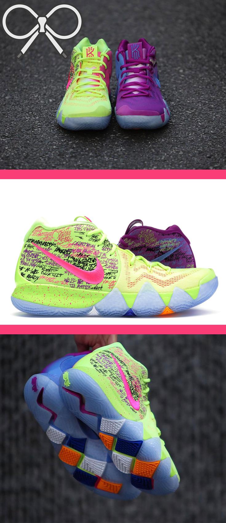Nike Kyrie 4 'Confetti' | Womens