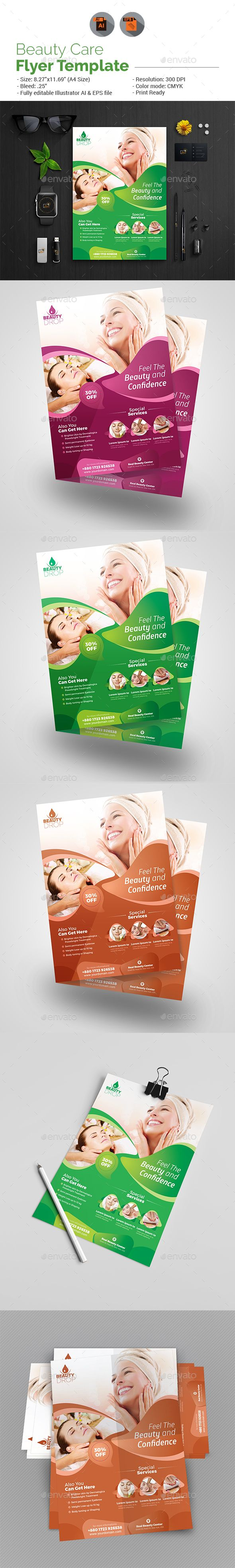 Beauty Care Flyer Template Beauty Care Flyer Template And Template