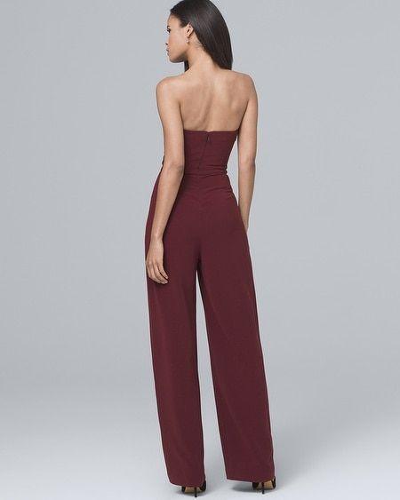 a29bfabe99c9 Women s Convertible Split-Leg Jumpsuit by White House Black Market ...