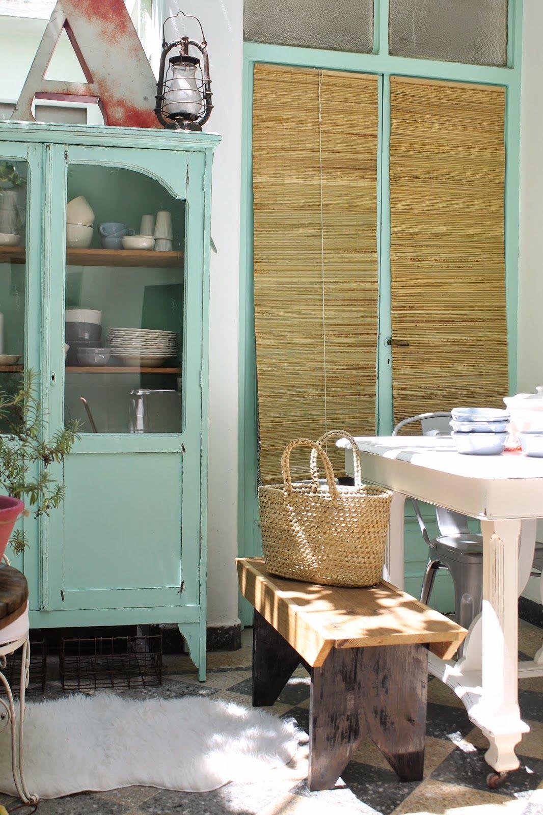 Mis Tips a la hora mezclar muebles.: Vintage Deco Marce   Entrance ...