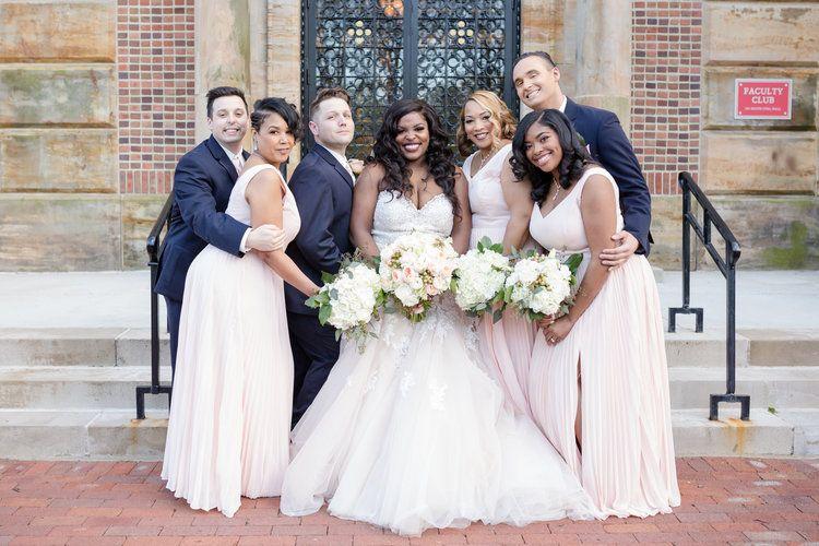 Faculty Club Wedding Osu Campus Columbus Ohio 614 Wedding Photography Ohio Wedding Photographer Ohio Wedding Brides And Bridesmaids