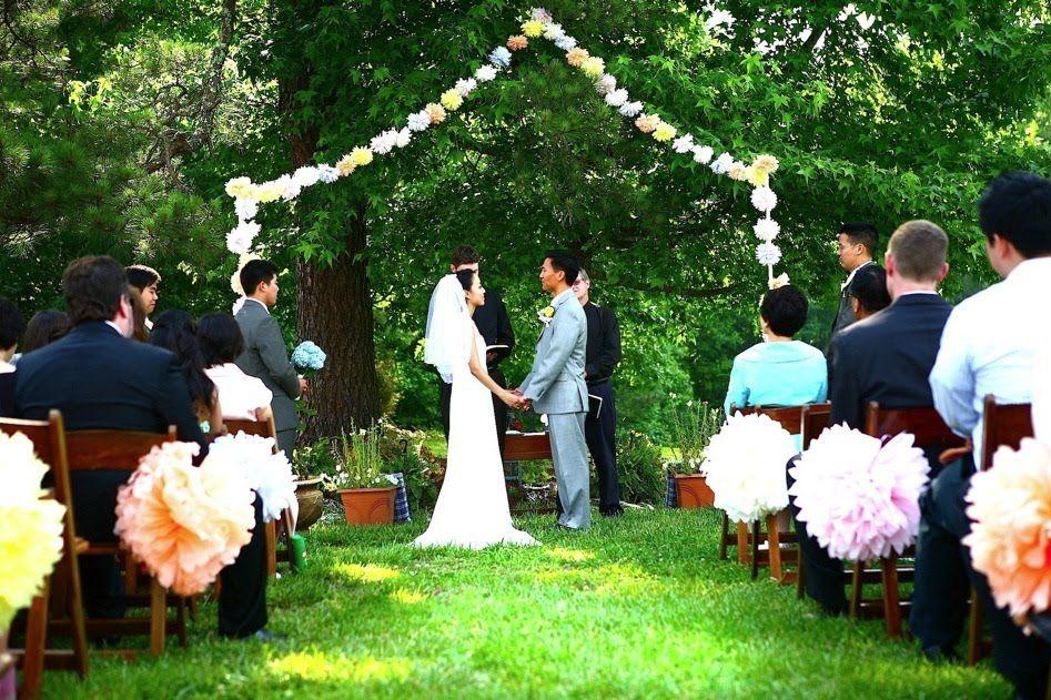 backyard wedding Small Backyard Weddings, Backyard Wedding Ceremonies, Wedding  Backyard, Backyard Wedding Decorations - Pin By Satruk Gomez On Wedding Decorations Ideas Pinterest