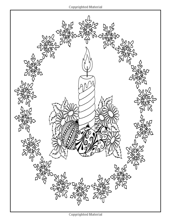 Amazon.com: Adult Coloring Book: The Big Book of Christmas: 55 ...