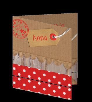 Lief uniek kaartje voor een meisje met een label en stempels https://hippe-geboortekaartjes.nl/zus-en-ik/meisje/lief-eigen-geboortekaartje-meisje-label-stempel