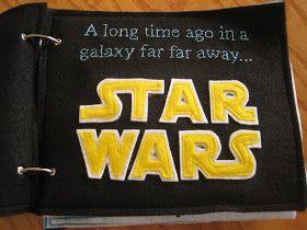 "Our Colorado Homefront: ""Pin""spiration - Jedi Quiet Book"