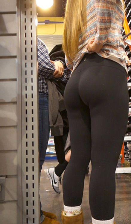 Yoga pants voyeur