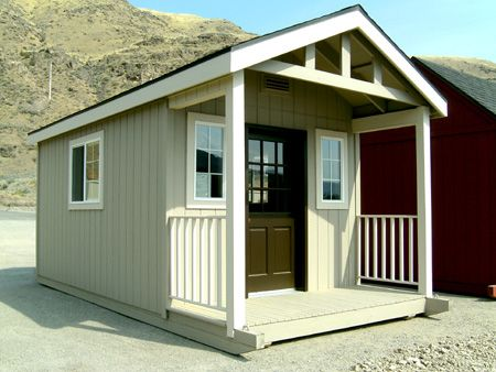 Rent Me Portable Storage, Custom Building, just right with ...
