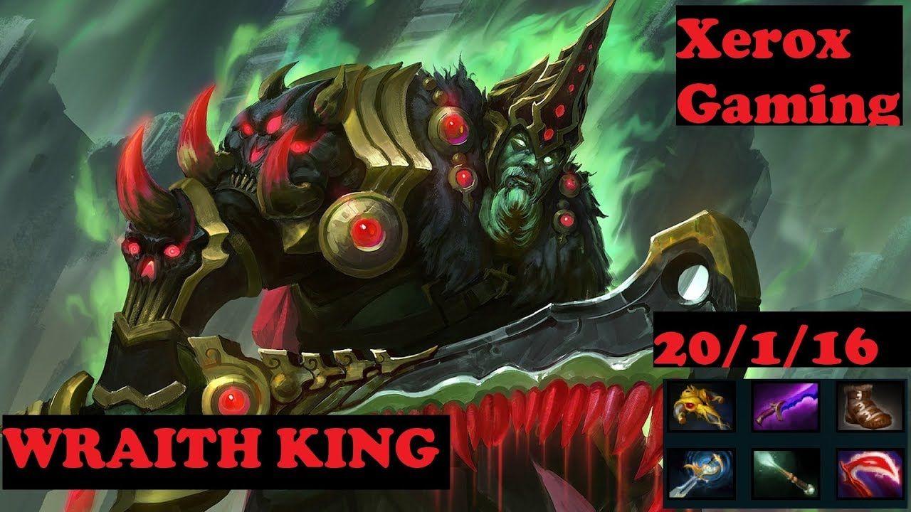 WRAITH KING DOTA 2 PATCH 7 06 NEW META || By Xerox Gaming videos