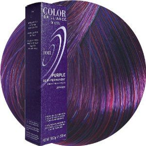 Ion Color Brilliance At Sally S Beauty Supply Or Amazon Crueltyfreehaircolor Crueltyfree Purple Ion Hair Colors Ion Hair Color Chart Permanent Hair Color