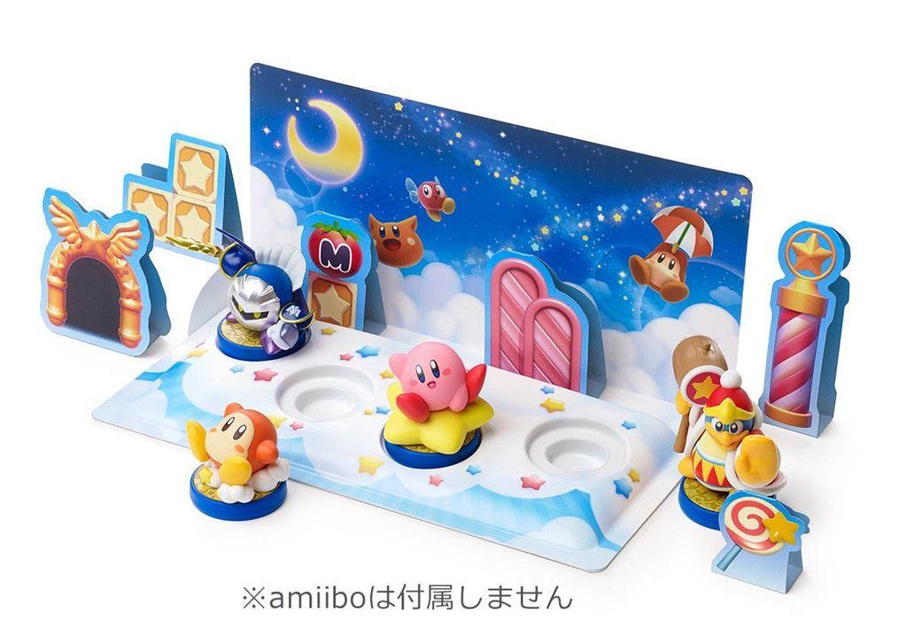 Amiibo Diorama Kit Kirby Amiibo Nintendo Amiibo Amiibo Display