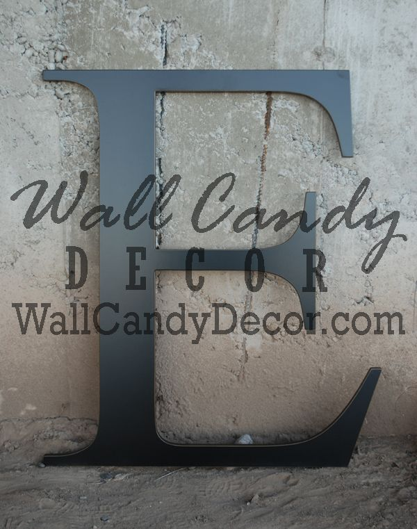 "36"" Tall Letters   $48  custom font, lc or capital, and color"