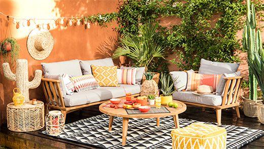 Découvrez le mobilier et la déco de jardin Maisons du Monde pour ...