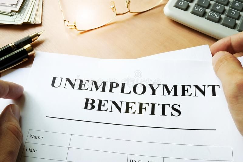 Unemployment Benefits Form Unemployment Benefits Form On A Table