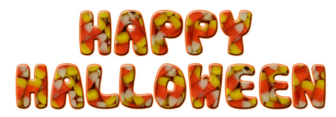 candy corn greeting