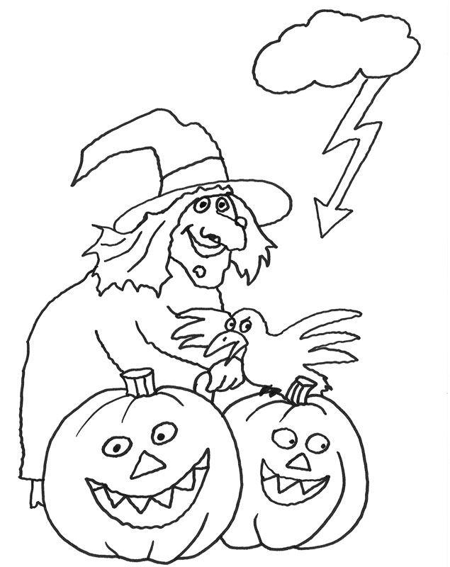 Kostenlose Ausmalbilder Und Malvorlagen Halloween Zum Ausmalen