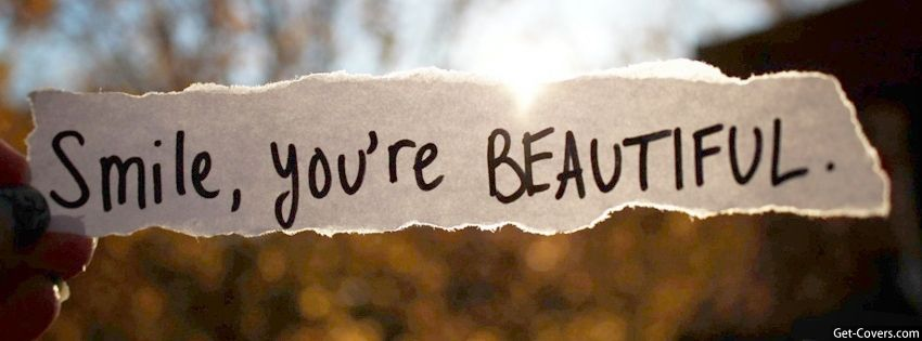 You Are Beautiful The Way You Are Cover Photo Quotes Cover