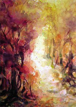 Franny's path by Dustan Knight