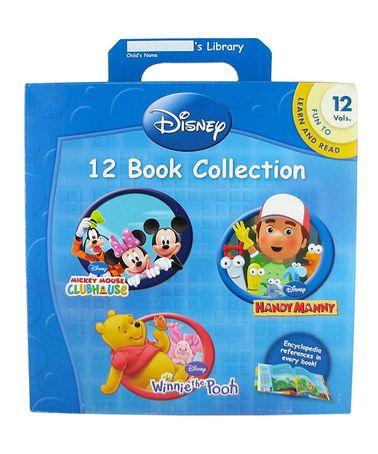 Look at this #zulilyfind! Disney 12-Book Collection #zulilyfinds