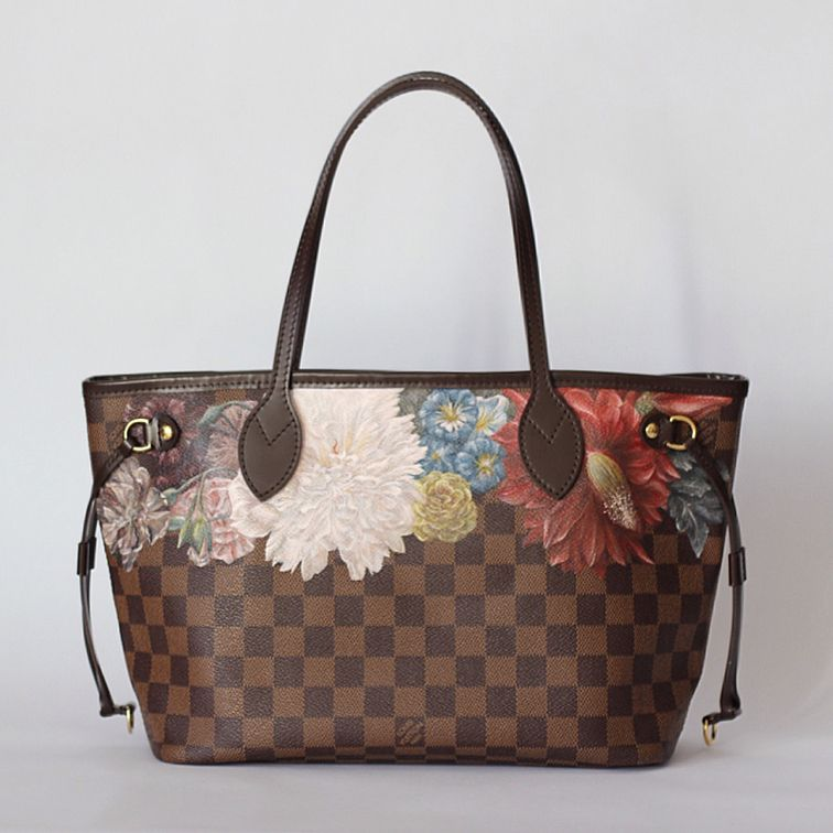 Please Swipe For Details Louis Vuitton Hand Painted Baroque
