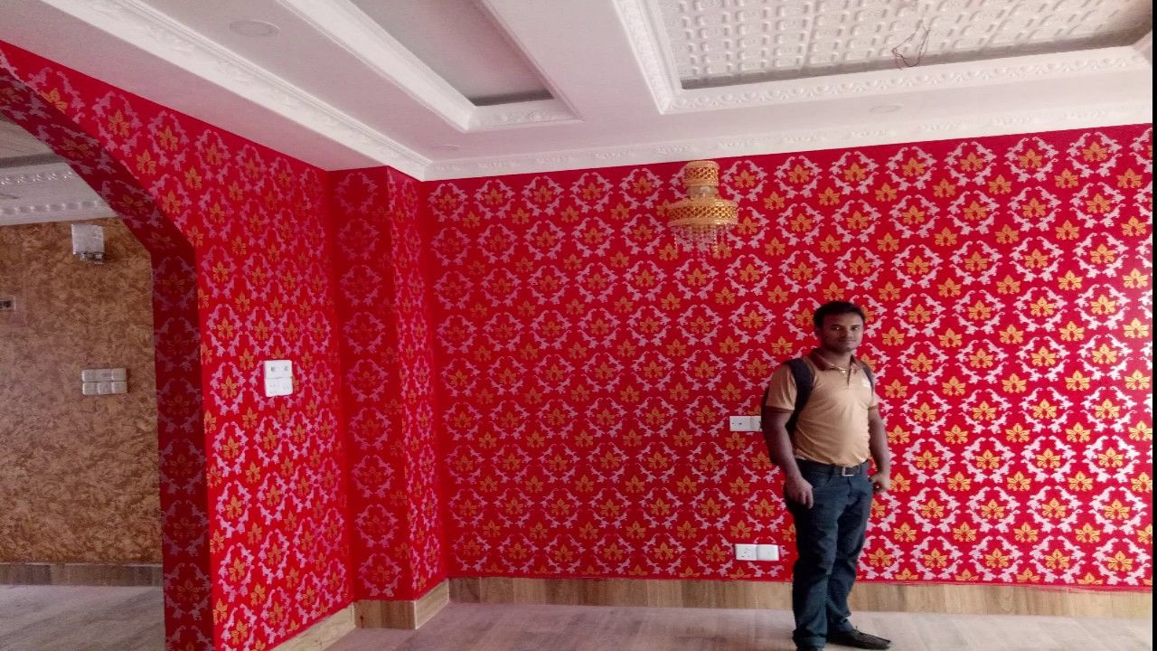 How To Make Painting Designs On Walls Asian Royal Paly Combination